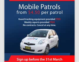 #42 for Design a Flyer for Mobile Patrol promotion af pris