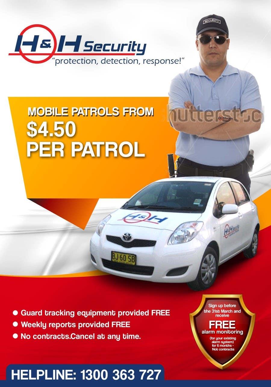 #28 for Design a Flyer for Mobile Patrol promotion by freelancejob2013
