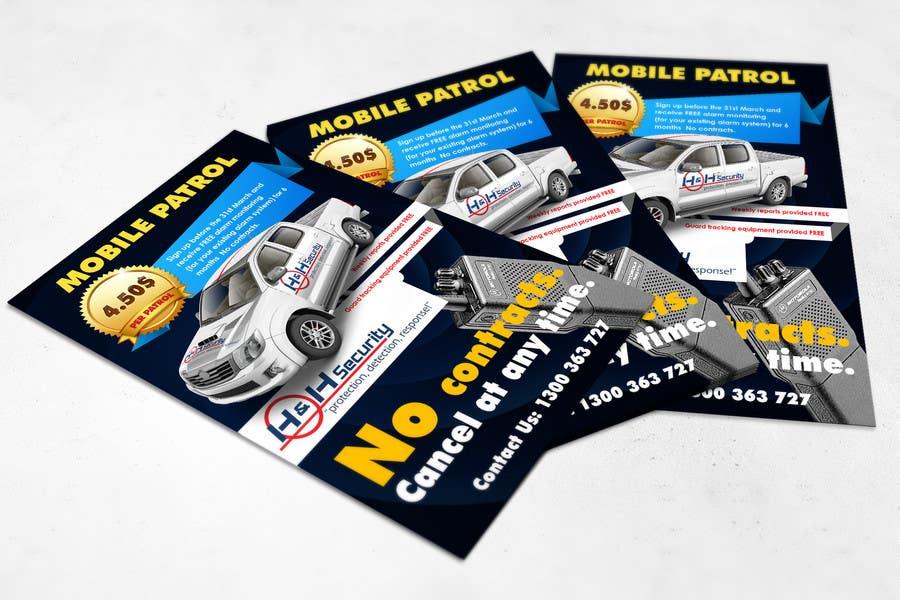 #36 for Design a Flyer for Mobile Patrol promotion by mentorsh