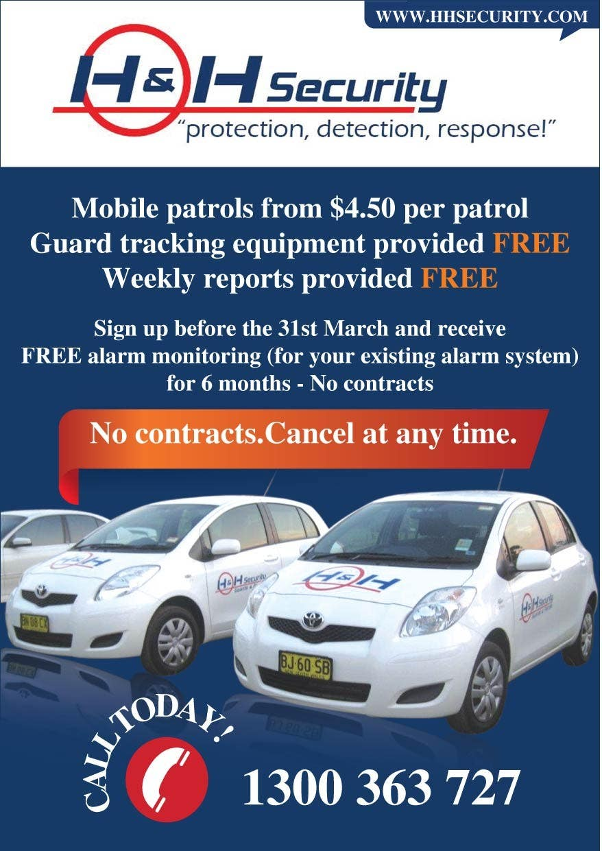 #17 for Design a Flyer for Mobile Patrol promotion by amcgabeykoon