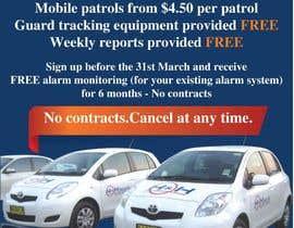 amcgabeykoon tarafından Design a Flyer for Mobile Patrol promotion için no 17