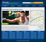 Graphic Design Inscrição do Concurso Nº48 para Website Design for Sportsconnect