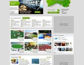 #69 för Website Design for Sportsconnect av mijotichy