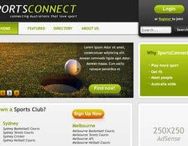 #80 para Website Design for Sportsconnect de cnlbuy