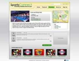 #97 para Website Design for Sportsconnect por Kashins