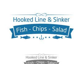 Nro 16 kilpailuun Design a Logo, Version 1,  fish and chips käyttäjältä ismailtunaa92
