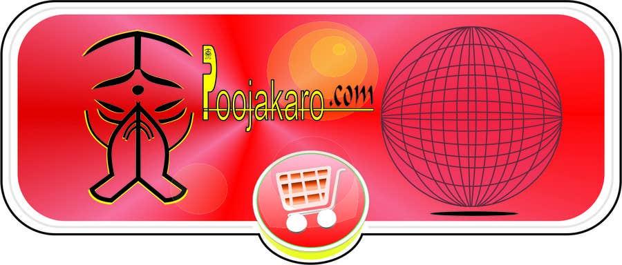 Kilpailutyö #20 kilpailussa Design a Logo for PoojaKaro.com