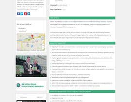 Nro 1 kilpailuun Design a Website Page Mockup käyttäjältä webidea12