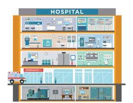 Nro 12 kilpailuun Hospital Infographic käyttäjältä Osynovskyy
