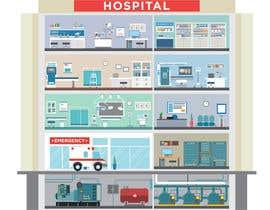Nro 19 kilpailuun Hospital Infographic käyttäjältä Osynovskyy