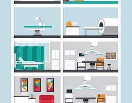 Nro 9 kilpailuun Hospital Infographic käyttäjältä jessebauman