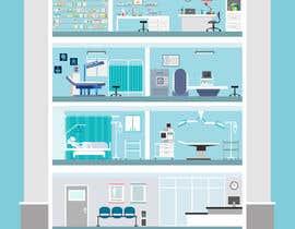 Nro 13 kilpailuun Hospital Infographic käyttäjältä oshosagar