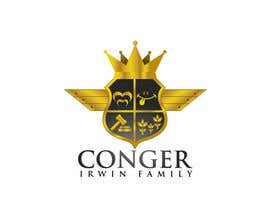 Nro 7 kilpailuun Conger Irwin Family Crest käyttäjältä jaywdesign