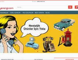 Nro 8 kilpailuun design a website header käyttäjältä N0mx