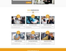 Nro 12 kilpailuun Design a Website Mockup käyttäjältä husainmill
