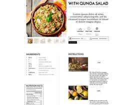 Nro 14 kilpailuun Re-design recipe page käyttäjältä olanloco