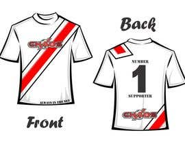 nº 11 pour Design a T-Shirt for our Youth Soccer Club par echiepner