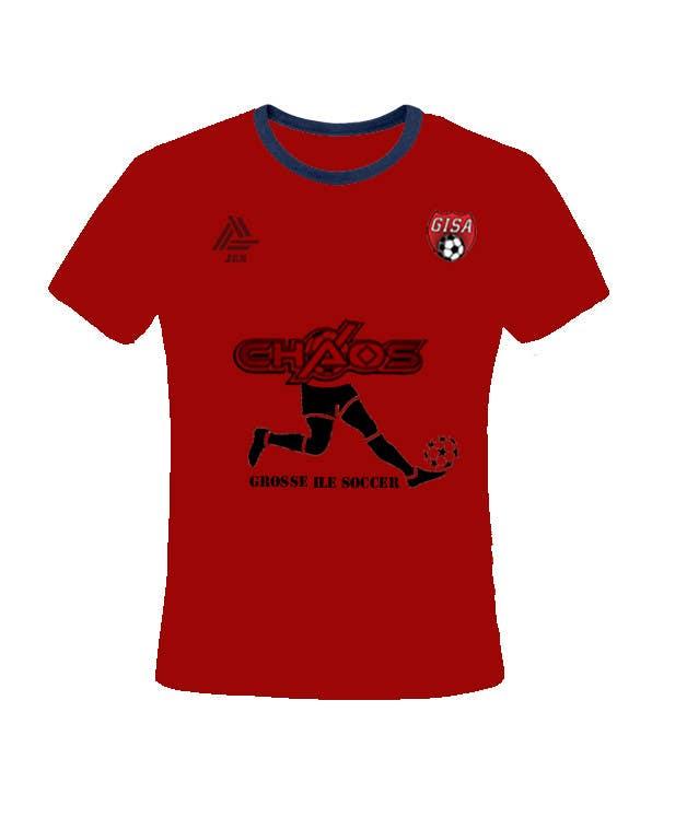 Penyertaan Peraduan #                                        5                                      untuk                                         Design a T-Shirt for our Youth Soccer Club