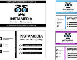 Nro 81 kilpailuun Business Card Design for Creative Event company käyttäjältä boka011