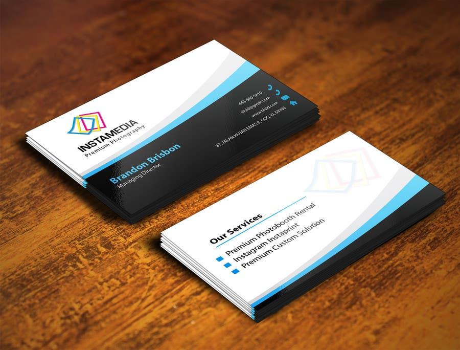 #68 for Business Card Design for Creative Event company by mamun313