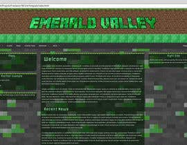 #2 untuk Design a basic HTML website template for my Minecraft Server oleh invironz