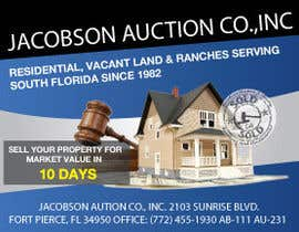 "#30 for 3""x4"" Advertisement Design; Auction Company; Needed ASAP by rajan4u"