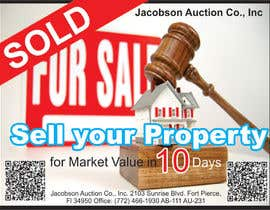 "#26 for 3""x4"" Advertisement Design; Auction Company; Needed ASAP by Ubaidahmadmughal"