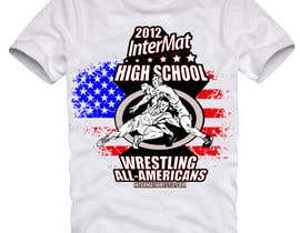 #59 untuk T-shirt Design for InterMatWrestle.com oleh mykferrer