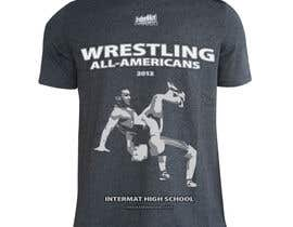 #39 untuk T-shirt Design for InterMatWrestle.com oleh JuriBianchi