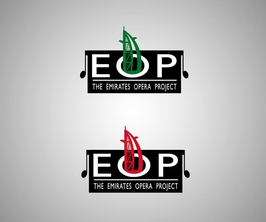 Kilpailutyö #60 kilpailussa Design a Logo for The Emirates Opera Project