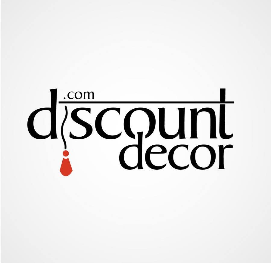 Penyertaan Peraduan #163 untuk Logo Design for Discount Decor.com