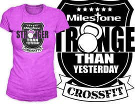 #17 for Design a CrossFit / Fitness T-Shirt for af richisd