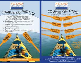 nº 16 pour Design a Flyer for Kayaking Company par bevparr