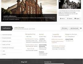 nº 34 pour Responsive webpage design for an exsiting layout (romain catholic church) par samuelsams
