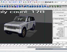 nº 21 pour 3D - Low poly Car model par clementalwin