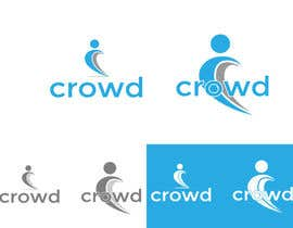 #22 untuk Design a Logo for a new App called Crowd oleh zaldslim