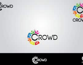 nº 14 pour Design a Logo for a new App called Crowd par AWAIS0