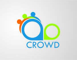nº 11 pour Design a Logo for a new App called Crowd par simpleblast