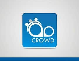 nº 27 pour Design a Logo for a new App called Crowd par simpleblast