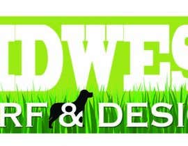 nº 3 pour Design a Logo for Midwest Turf & Design par LuckyDogDesign