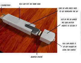 #19 cho Product Design - USB key holder  $100.00 USD award! bởi saescorp