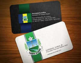 #59 untuk Business card for city lawyer oleh shipanmm