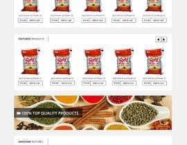 MadniInfoway01 tarafından Design a online Grocery store homepage için no 3