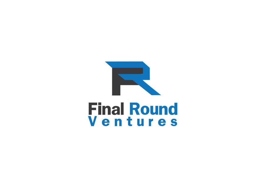 Penyertaan Peraduan #127 untuk Final Round Ventures Logo Design