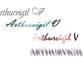 #2 for Design a Logo for arthur vigil af Kavinithi