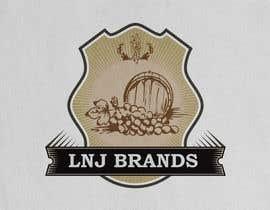 "Darusalam tarafından ""LNJ Brands"" Logo Contest - Needed for family business (Wine and Liquor Company) için no 30"