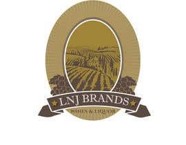 "STARWINNER tarafından ""LNJ Brands"" Logo Contest - Needed for family business (Wine and Liquor Company) için no 40"