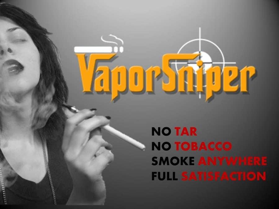 #3 for Design A Postcard for Vapor Sniper Wholesale Program, by vesnarankovic63