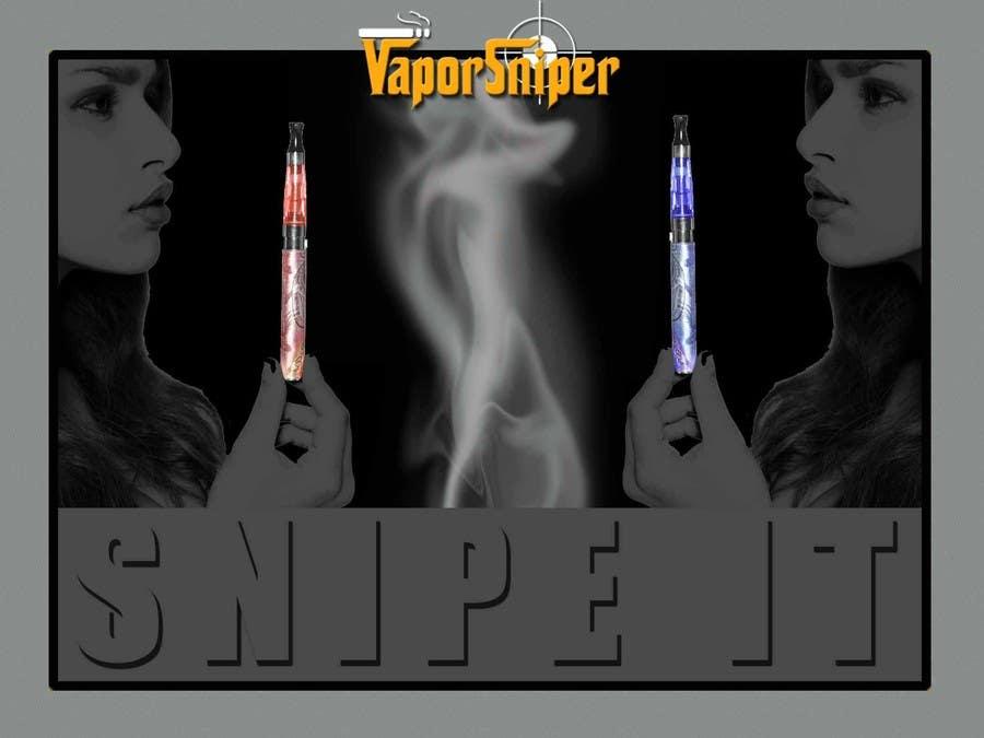 #8 for Design A Postcard for Vapor Sniper Wholesale Program, by arturw