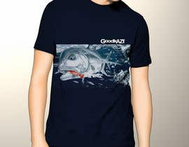 #41 untuk T-shirt design for Trevally Fish oleh nitecrawlersl